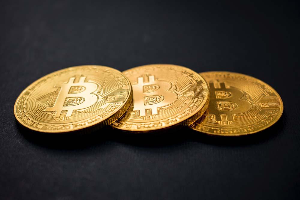 Bitcoin Physische Münze