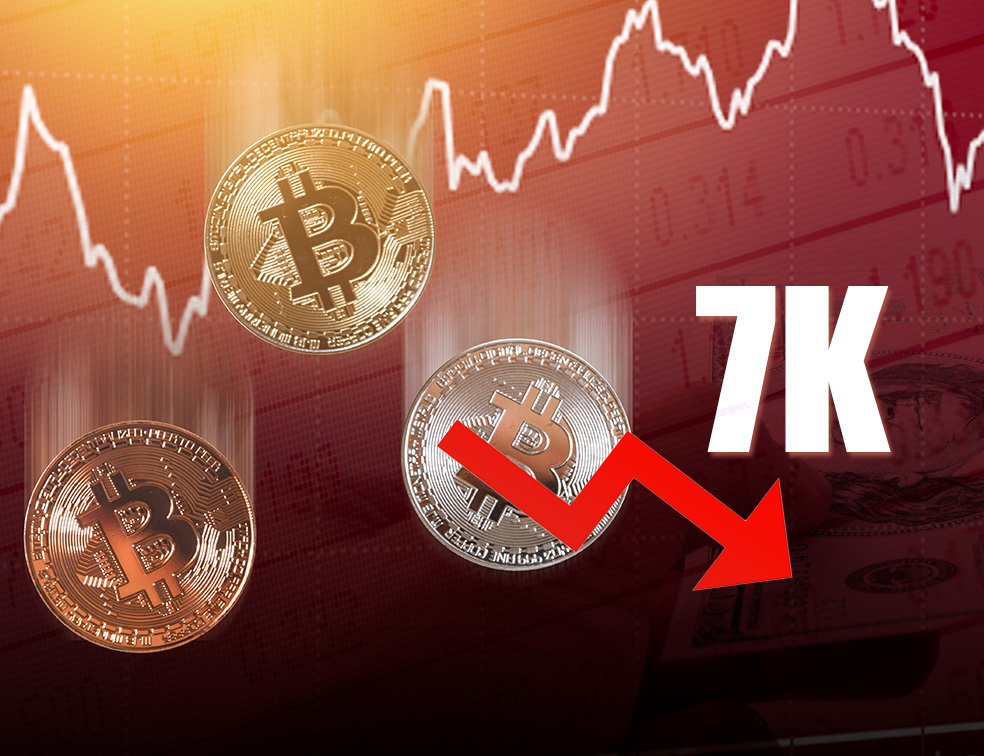 Bitcoin cracks 7k on april 2020 but fails to consolidate